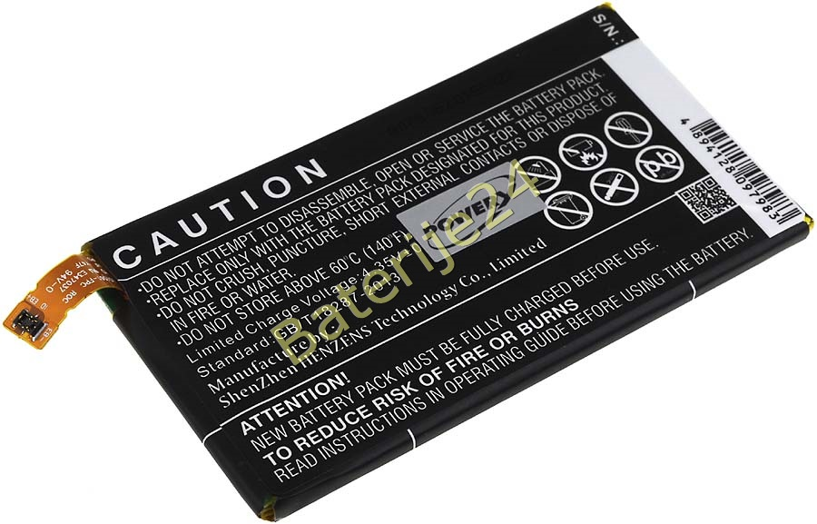Baterija za Sony Ericsson Xperia Z3 Compact / Typ LIS1561 komPC 2600mAh