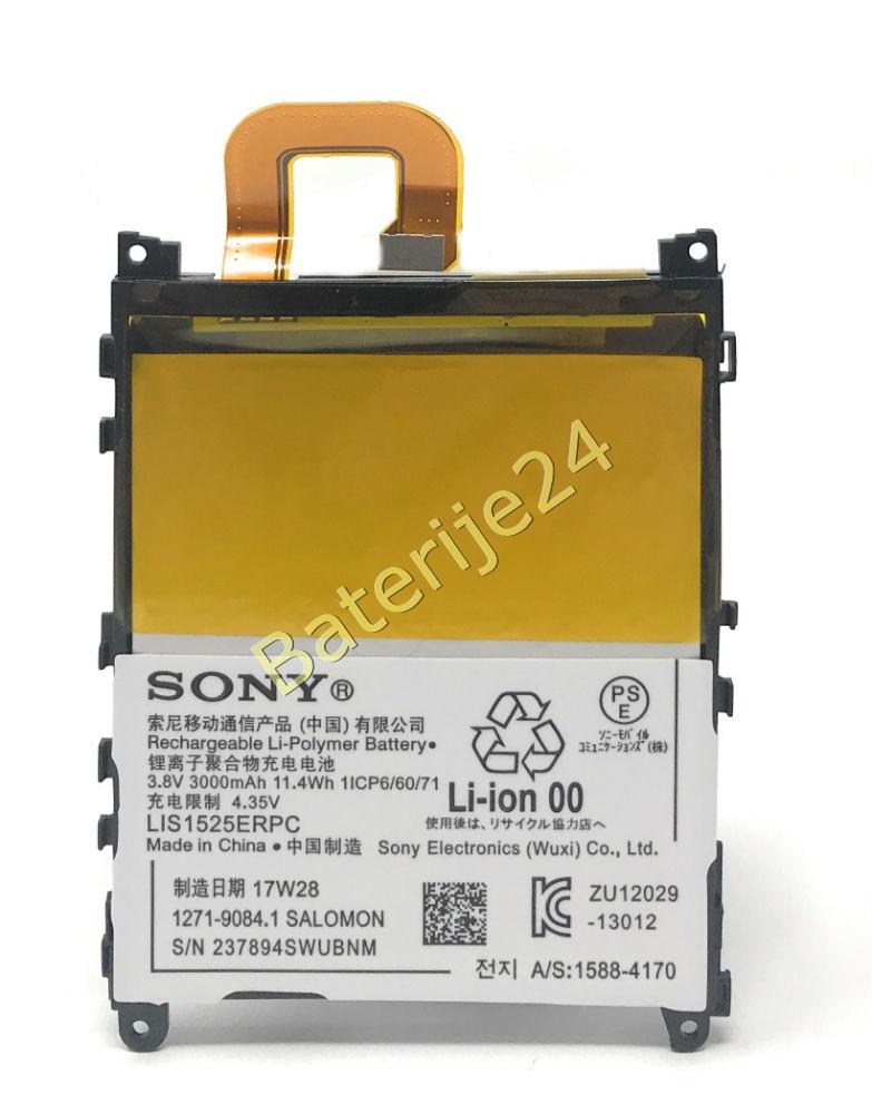 Baterija za Smartphone Sony Xperia Z1 / Typ LIS1525 komPC Original