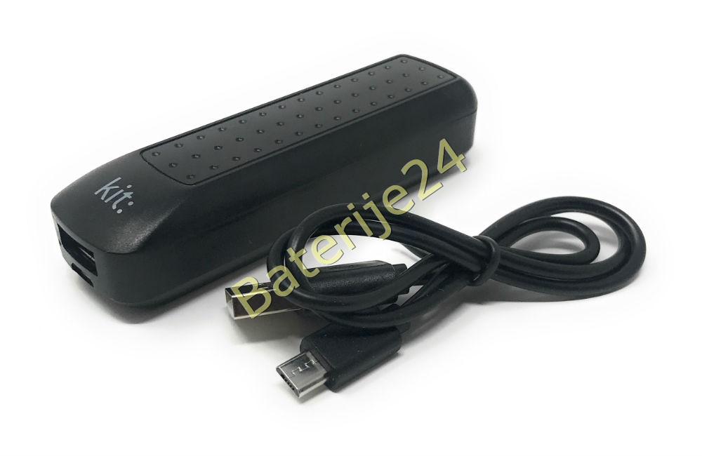 Original kit Powerbank / Punjač / Zusatz-Baterija uključen Micro-USB Kabel 2,0Ah