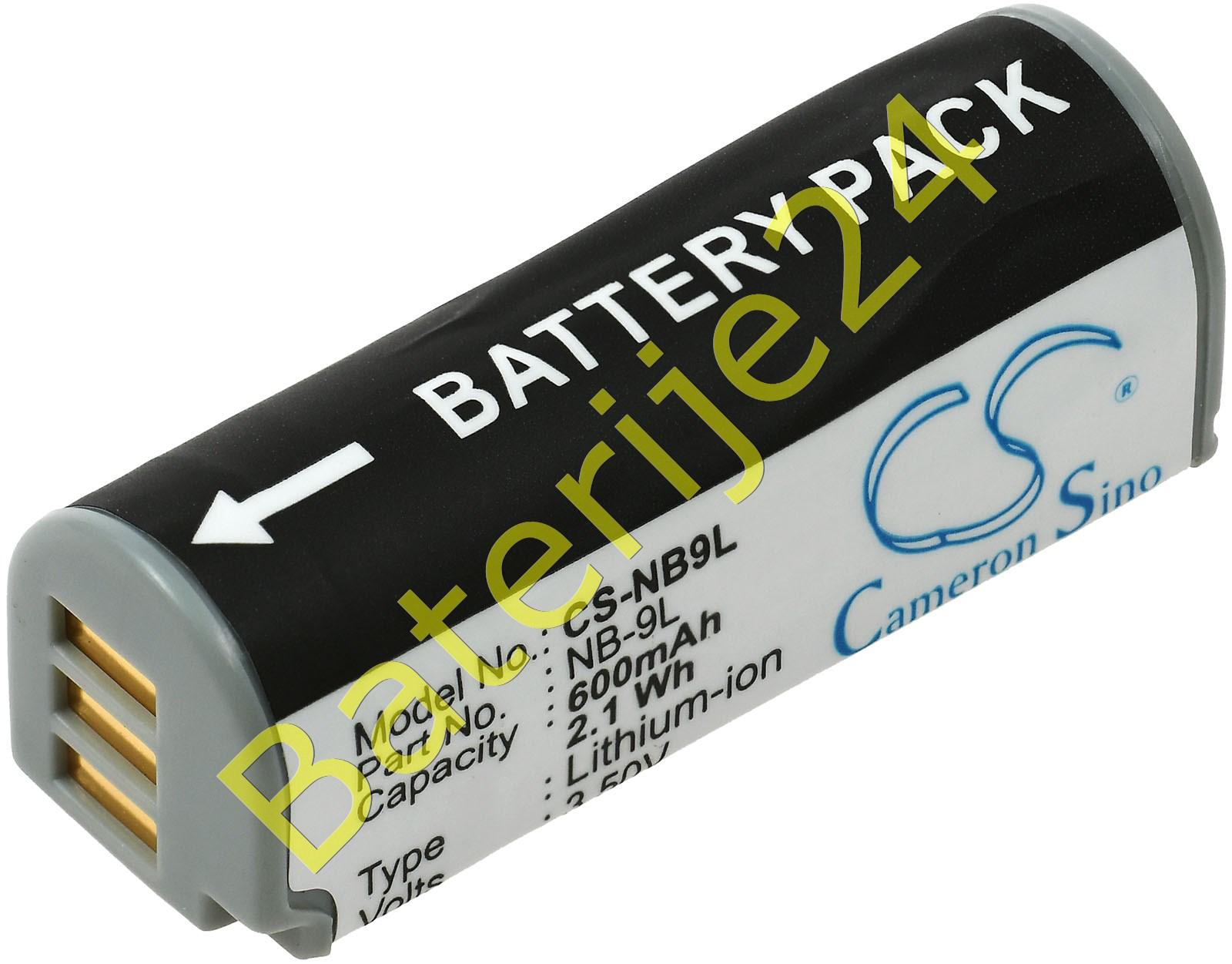 Baterija za Canon Typ NB-9L