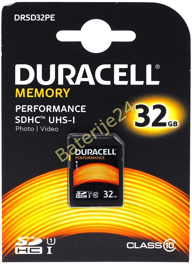Duracell Memory SD-Card SDHC UHS-I 32GB