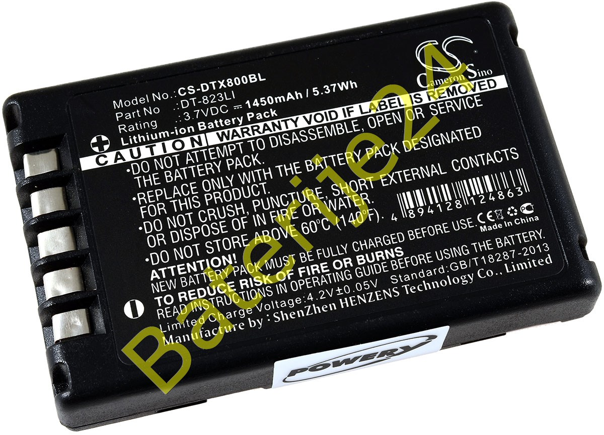 Baterija za Barcode skener Casio DT-800 / DT-810 / Typ DT-823LI