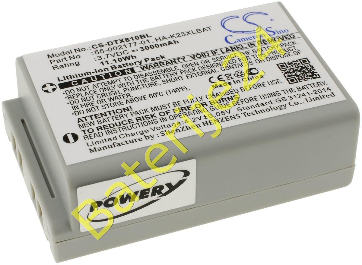 Baterija za Barcode skener Casio DT-X8 / Typ HA-K23XLBAT