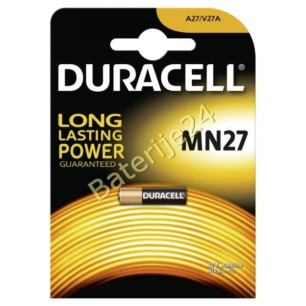 Baterija Duracell Typ MN27/ Typ 27A Alkaline