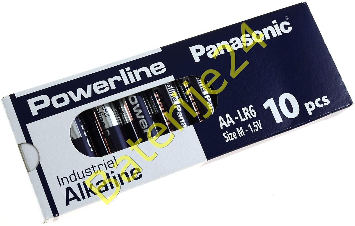 Panasonic Powerline Industrial Alkaline AA LR6AD LR6 M 1,5V 10er Pack