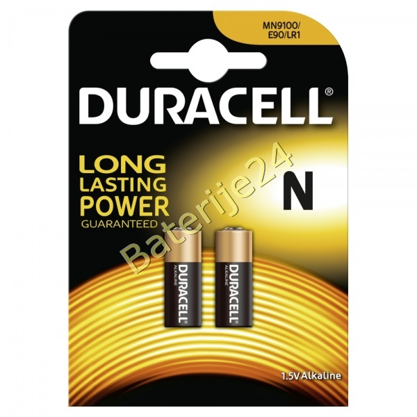 Baterija Duracell Security MN9100 LR1 Lady 2 kom Blister