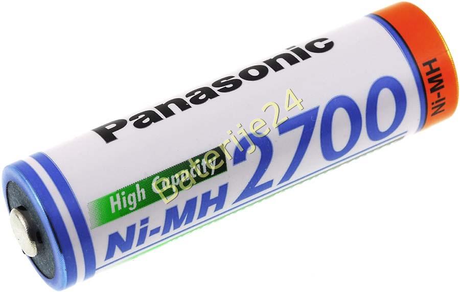 Panasonic AA baterija AA / Typ BK-3HGAE/BF1  2700mAh NiMH