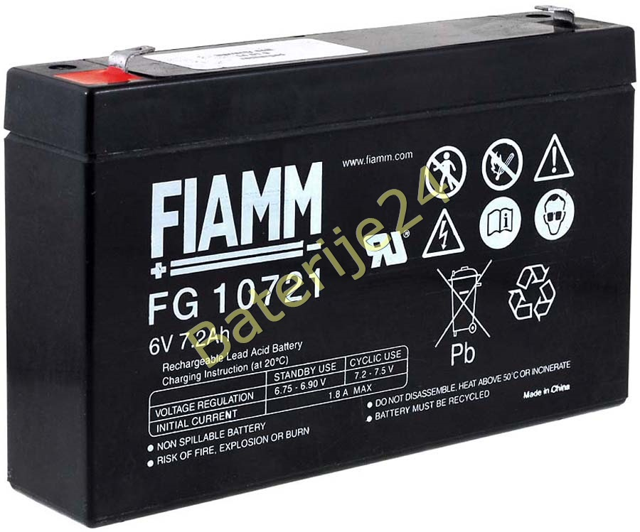 FIAMM olovna baterija FG10721