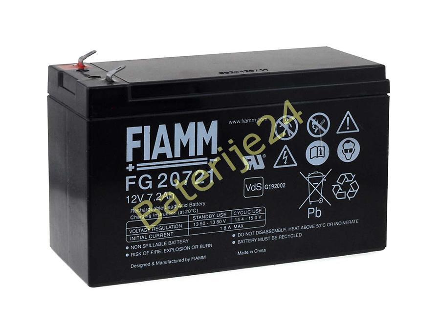 FIAMM olovna baterija FG20721 Vds